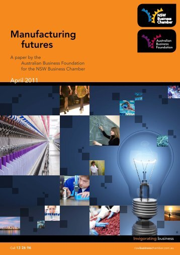 Manufacturing futures - NSW Business Chamber