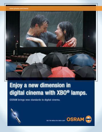 XBO Digital Cinema - Digital Cinema Equipment