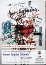 Programmheft - Jenaer Tag der Didaktik - Poliglotti 4