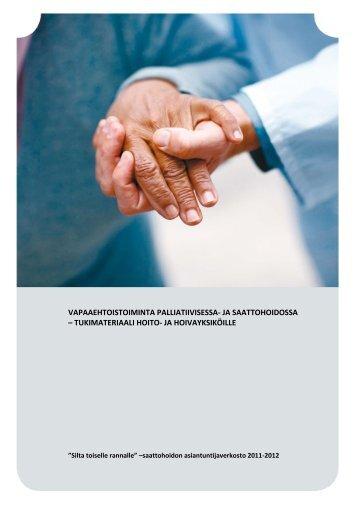vapaaehtoistoiminta palliatiivisessa- ja ... - Kansalaisareena