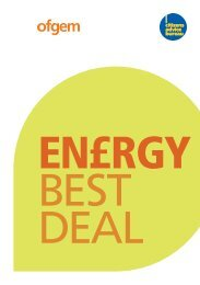 Energy Best Deal - Citizens Advice