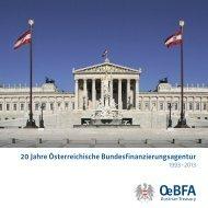 20 Jahre Österreichische Bundesfinanzierungsagentur - Austrian ...