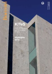 kites annual report 2010 - Knowledge, Internationalization and ...