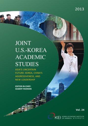 Click here for the full publication PDF - Korea Economic Institute