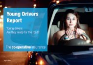 Young Drivers Report - The Co-operative