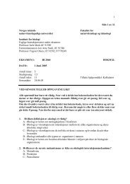 BI 2060 Bokm.pdf - Institutt for biologi