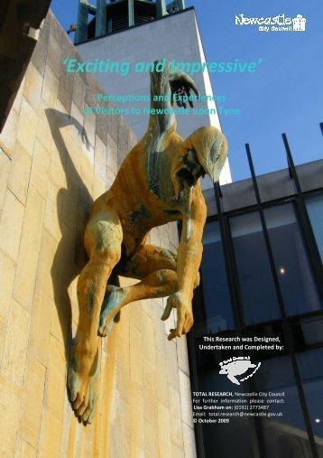 'Exciting and Impressive' - Newcastle Gateshead