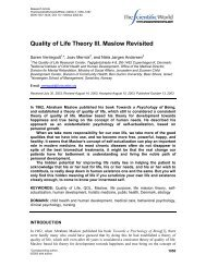 QOL_theory_III_(Maslow revisited...