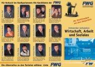 Flyer Wirtschaft - FWG Korbach