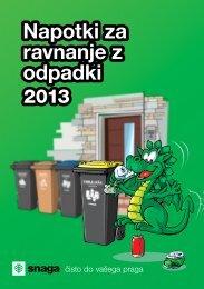 Navodila za ravnanje z odpadki - Občina Horjul