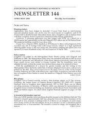 NEWSLETTER 144 - Theydon Bois Village Web Site