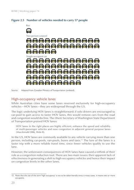 PDF: 1832 KB - Bureau of Infrastructure, Transport and Regional ...