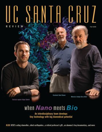when Nanomeets Bio - Review Magazine - University of California ...