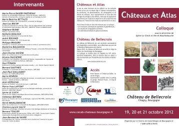 Châteaux et Atlas - ARTeHIS