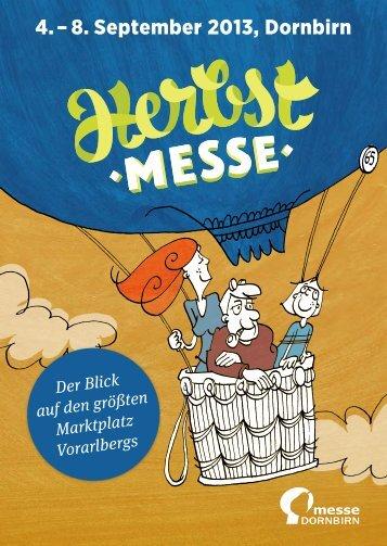 4. – 8. September 2013, Dornbirn - Herbstmesse - Messe Dornbirn