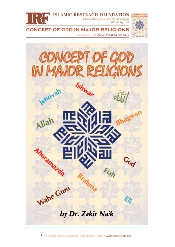 Concept Of God In Major Religions KalamullahCom - List of major religions
