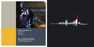 Les brosjyren vår - Namsos Audiosenter