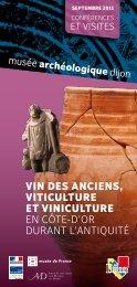 vin des anciens, viticulture et viniculture EN CôTE-d'OR duRaNT l ...