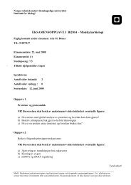 bi2014 b.pdf - Institutt for biologi - NTNU