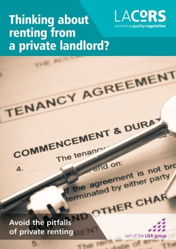 Renting from a Private Landlord - Hackney