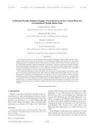 PDF (2345 KB) - American Meteorological Society