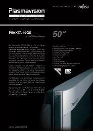 "50"" P50 XTA 40GS - Home"
