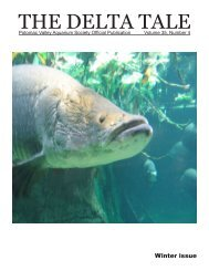 THE DELTA TALE - Potomac Valley Aquarium Society
