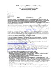 Contract for Residents 2008/09 - UCSF Fresno - University of ...