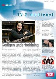 Gedigen underholdning - Tv2