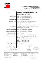 Falazó Habarcs 100 - MNy - Baumit