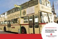 Stadtrundfahrten, der aktuelle Info-Flyer - Traditionsbus Osnabrück