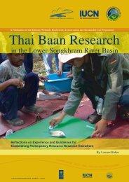 Thai Baan Research - Mekongwetlands.org