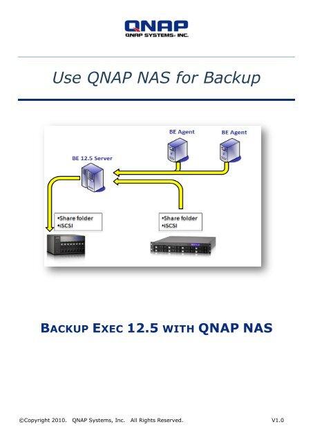 Use QNAP NAS For Backup