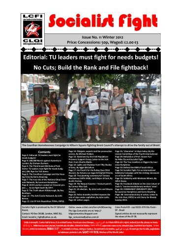 Socialist Fight - Indymedia Ireland