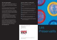 NAT Condom leaflet - French version - ViiV Healthcare