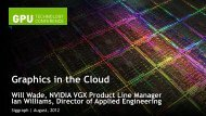 Graphics in the Cloud