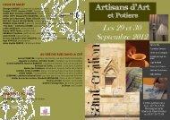 Salon des Artisans d'art et potiers 2012 - Saint-Emilion