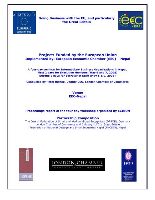 Report on Activity 1 1 1 Doing Business with EU pdf