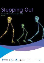 Stepping out - Murdoch Childrens Research Institute