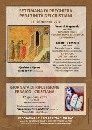 Programma Milano città - Chiesa di Milano