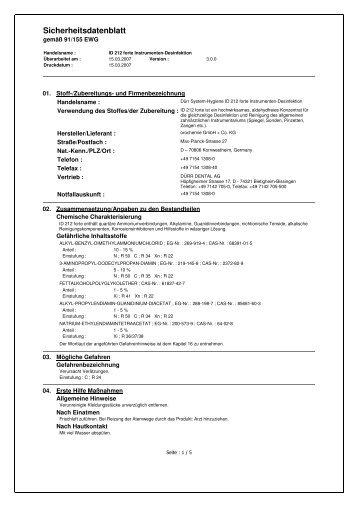 7657306 sicherheitsdatenblatt.pdf - Dentabo.de