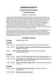 Vorläufiges Programm - DFR