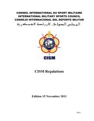 Regulations - CISM