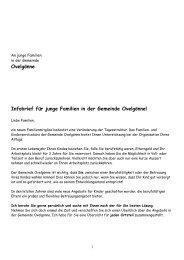 Infobrief für Junge Familien in Ovelgönne Mai 2013 - Gemeinde ...