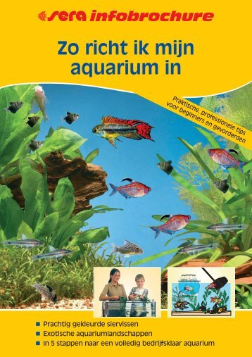 Zo richt ik mijn aquarium in - sera GmbH