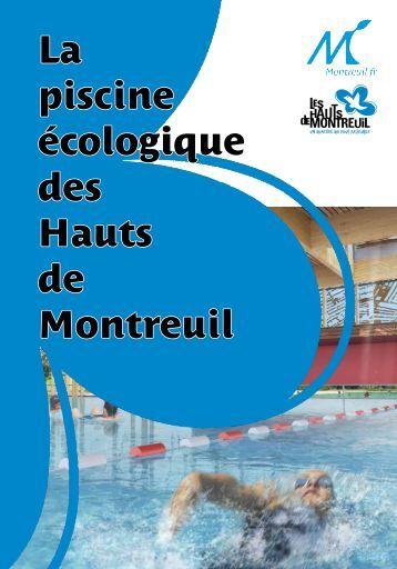 Piscine ou spa ville de la prairie for Piscine ecologique montreuil