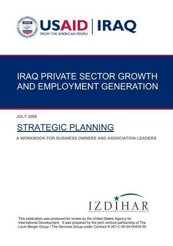 Strategic planning and business development