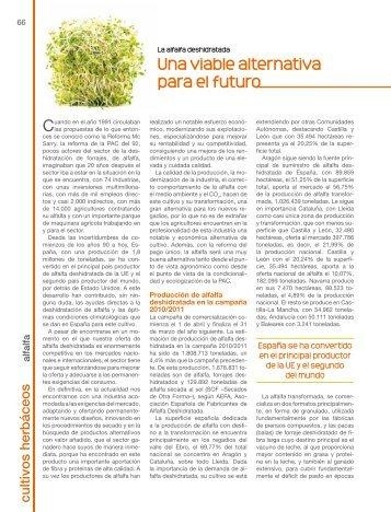 Una viable alternativa para el futuro - Cooperativas Agro-alimentarias