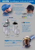 Kopf-, Gesicht- und Gehörschutz - PSA VERTRIEB - Seite 3