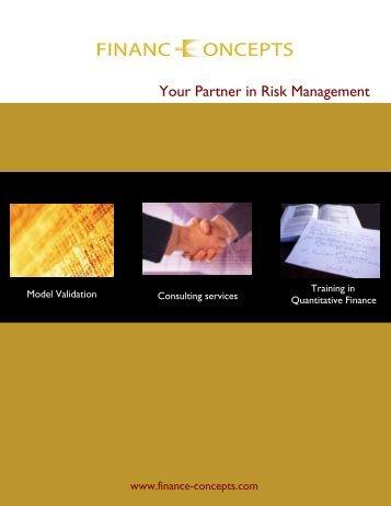 Model Validation - Finance Concepts
